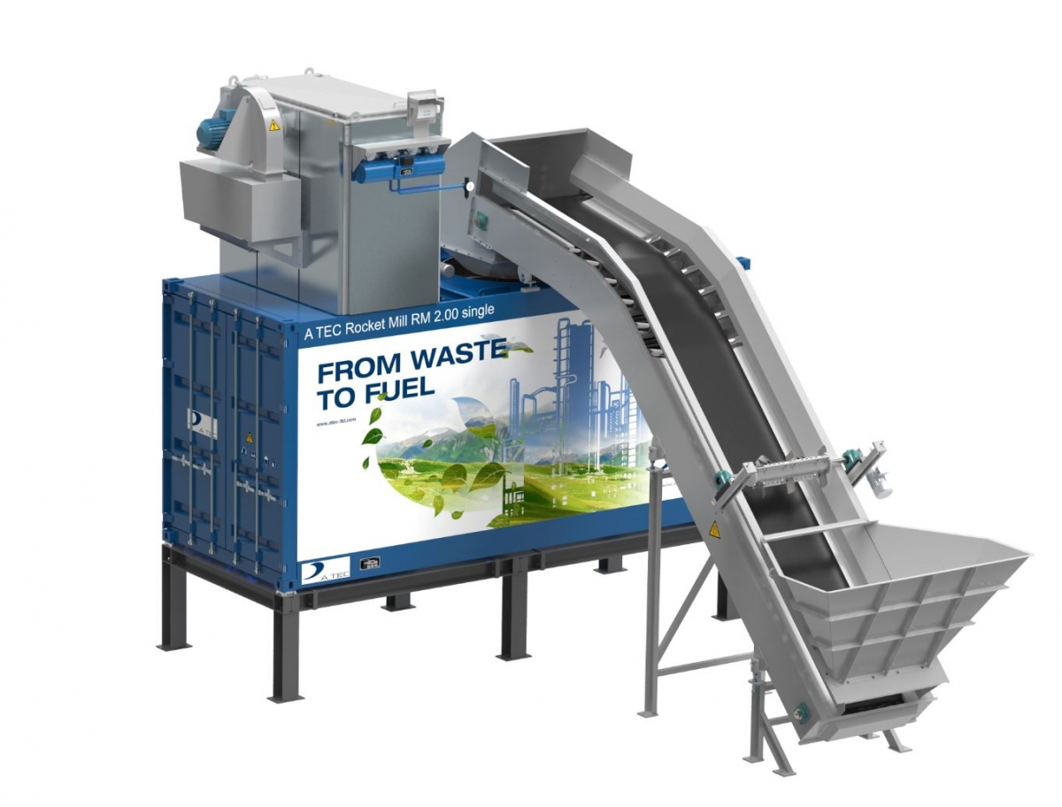 Semi-mobile version of Rocket Mill® launched