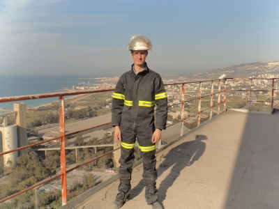 Dr. Stefan Kern on-site in Libanon.