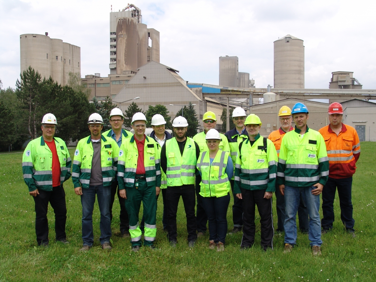 The project team in Mannersdorf with our A TEC colleagues Daniele Sabadelli and Dr. Wolfgang Freimann.