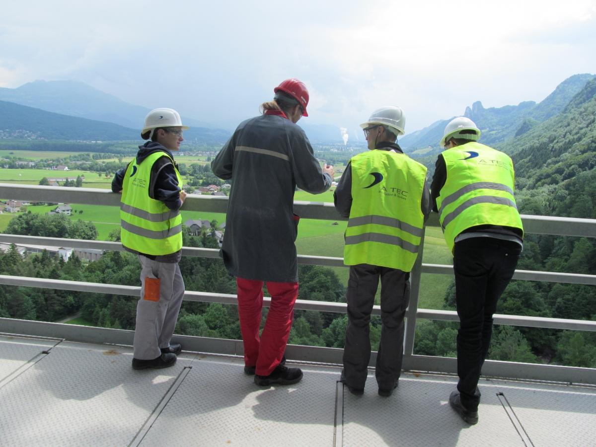 Loesche Plant Tour in Österreich